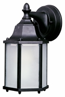 Maxim 86926BK Side Door EE Medium Black Fluorescent Exterior Wall Lamp