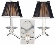 Maxim 32003BTPS Elite 2 Light Silver Wall Sconce
