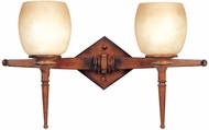 Maxim 11211-WSBH(OSS) Olympia 2 Light Wooden Wall Sconce (Over-Stock Sale)