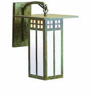 Arroyo Craftsman GB-6L Glasgow Craftsman Outdoor Wall Sconce - 9.75 inches tall