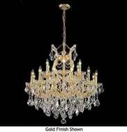 Worldwide 83005 Worldwide 19-light Antique Crystal Style Chandelier