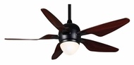 Casablanca 64662 Modena II Modern 47 Inch Span Matte Black Ceiling Fan Light
