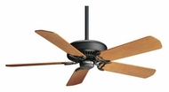 Casablanca 64383 Panama XLP 4 Speed Transitional Matte Black Finish Home Ceiling Fan
