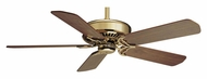 Casablanca 64932 Panama XLP Transitional Bright Brass Home Ceiling Fan Motor With Blade Options