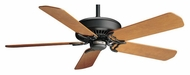 Casablanca 60675 Panama XLP Matte Black Finish Blade Optional Ceiling Fan Motor
