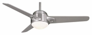Casablanca 93045M S3 Brushed Nickel Finish Modern Ceiling Fan Lighting - 54 Inch Span