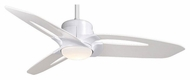 Casablanca C28G11M Star 52 Inch Span Snow White Ceiling Fan Lighting Fixture - Modern