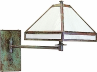 Arroyo Craftsman PSA-1 Pasadena Craftsman Wall Swing Arm Lamp
