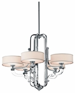 Kichler 42660CH Point Claire 5-light Chandelier