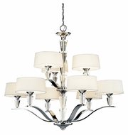 Kichler 42031CH Crystal Persuasion 9-light Modern Chandelier