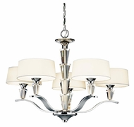 Kichler 42030CH Crystal Persuasion 5-light Modern Chandelier