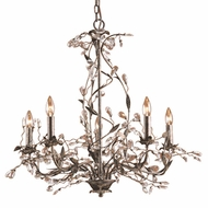 ELK 8054-5 Circeo Rustic 28 inch 5-Light Chandelier