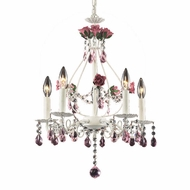 ELK 4054-5 Rosavita Rustic 5-Light Chandelier