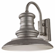 Feiss OL9004TRD Redding Station Large Tarnished Finish 15 Inch Diameter Outdoor Wall Lighting