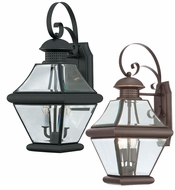 Quoizel RJ8409 Rutledge Medium 19 Inch Tall Classic Wall Lantern Outdoor Sconce