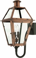 Quoizel RO8311AC Rue De Royal Large Top-Hanging 2 Candle Exterior Lantern Wall Sconce