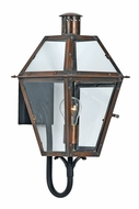 Quoizel RO8410AC Rue De Royal Medium Classic 17.5 Inch Tall Lantern Copper Sconce
