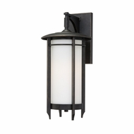 Quoizel DA8408IB Darrow Bronze Medium Craftsman 17 Inch Tall Lantern Wall Sconce