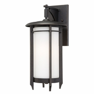 Quoizel DA8410IB Darrow Large Craftsman 20 Inch Tall Exterior Wall Lamp - Bronze Finish