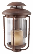 Feiss OL9201CN Menlo Park Small Cinnamon Finish 14 Inch Tall Outdoor Wall Lighting