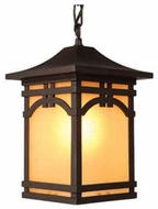 Artcraft AC8065 Courtyard Craftsman Outdoor Pendant Light
