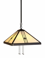 Arroyo Craftsman USH-11 Utopian Craftsman Pendant Light - 38.625 inch long