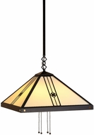 Arroyo Craftsman USH-16 Utopian Craftsman Pendant Light - 40.375 inch long