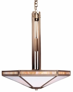 Arroyo Craftsman ETCH-21 Etoile Craftsman Pendant Light - 21 inches wide