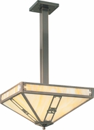 Arroyo Craftsman PCH-16 Pasadena Craftsman Pendant Light - 27 inches tall