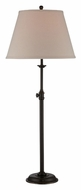 Lite Source LS21904 Kiffany Dark Bronze 33 Inch Tall Adjustable Neck Transitional Table Lamp Lighting
