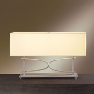 Hubbardton Forge 27-2905 Alexandria Wide Rectangular 12.8 Inch Tall Table Light