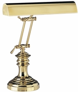 House of Troy P14204AB P14-204-AB 14 inch Round Base Brass Piano Desk Lamp