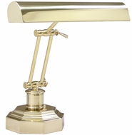 House of Troy P14203AB P14-203-AB 14 inch Octagonal Base Brass Piano Desk Lamp