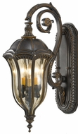 Feiss OL6002-WAL Baton Rouge 3 Light Outdoor Wall Sconce