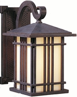Feiss OL1800-WP Prairie House 1-light 11.5 inch Outdoor Wall Light in Weathered Patina