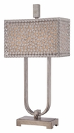 Quoizel CKCF6330OS Confetti Old Silver Finish 29 Inch Tall Table Light