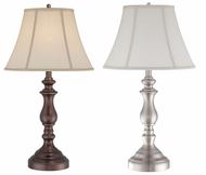 Quoizel Q1054T Portable 15 Inch Diameter Traditional Table Lamp