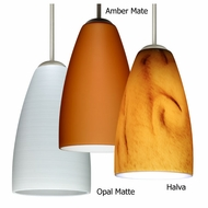 Besa Riva 9 Contemporary Mini Pendant Light