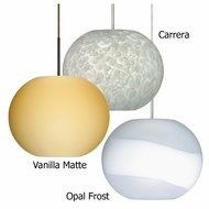 Besa Luna Contemporary Pendant Light