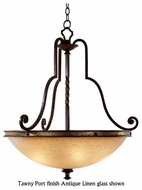 Kalco 6107 Durango Large Rustic Pendant Light
