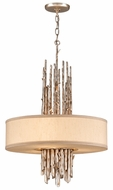 Troy F2894 Adirondack Medium Trees 3-light Rustic Pendant Lighting