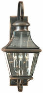 Quoizel CAR8729AC Carleton 23 inches tall outdoor lighting wall fixture in aged copper