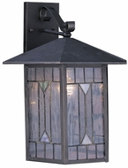 Quoizel CL8429Z Chaparral 15 inches tall outdoor wall lighting fixture in medici bronze finish