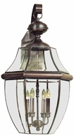 Quoizel NY8339 Newbury 29 inches tall outdoor wall light fixture