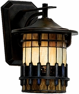 Quoizel TFAR8409BE Autumn Ridge Tiffany Small Outdoor Wall Sconce