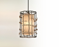 Troy F2883 Adirondack Small 3-light Rustic Pendant Light
