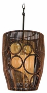 Corbett 12941 Havana Small Rustic Pedant Light