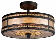 Landmark 700652 Mica Filigree Semi-Flush Ceiling Light