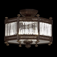 Fine Art Lamps 584640 Eaton Place 3-light Traditional Crystal Ceiling Light Fixture