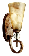 Kichler 45169SRM Roma Notte Wall Sconce in Sunrise Mist